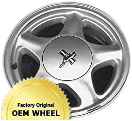 FORD MUSTANG 16X7 5 SPOKE Factory Oem Wheel Rim- SILVER – Remanufactured
