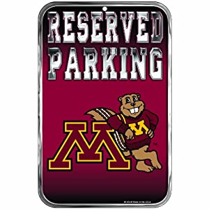 Buy NCAA Minnesota Golden Gophers 11-by-17 inch Sign by WinCraft