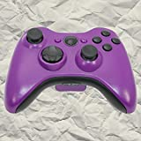 Matte Purple with Black Out Kit - XBOX 360 Controller Shell Kit