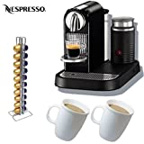 Nespresso CitiZ D120 Automatic Espresso Maker and Milk Frother, Limousine B ....