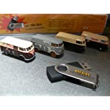 Allll Scale Bulli Restoration VW T1 4 Vehicle Collection -- With Photo Collection On USB Flash Memor