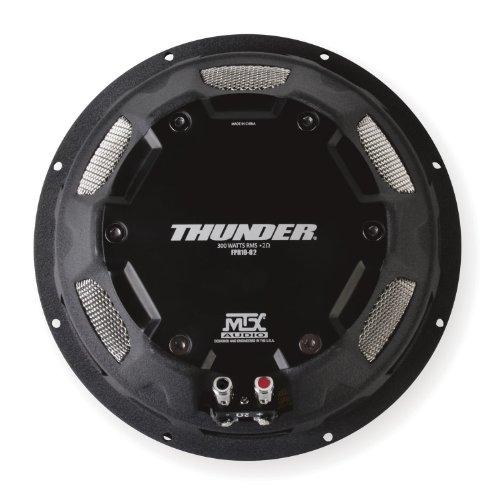 MTX Audio FPR10-02 Shallow Mount Subwoofer
