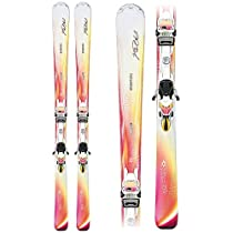 Volkl Chiara Womens Skis with Volkl/Marker 4Motion 11.0 TC Bindings 2014