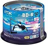 TDK 録画用ブルーレイディスク ハードコート仕様 BD-R 25GB 1-6倍速 ホワイトワイドプリンタブル 50枚スピンドル BRV25PWC50PA