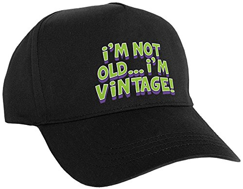 Amscan Old Dude Birthday Party Celebration Hat, Black