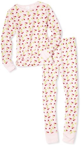 2 Piece Pink Thermal Sleepwear Set