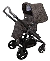 Bebecar Act Pushchair Black Chassis (Bronze Velvet) by Bebecar