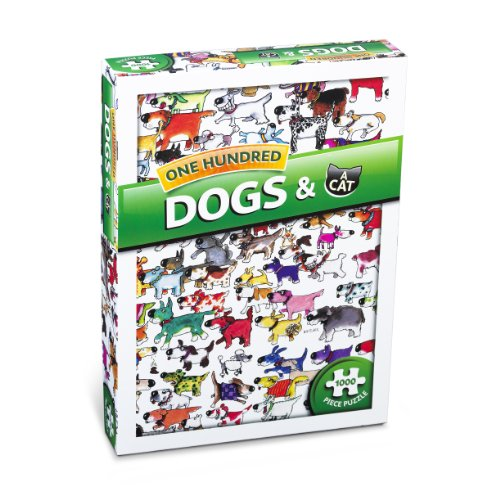 Paul Lamond One Hundred Dogs and a Cat Puzzle (Mad Dog Animated)