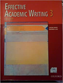 effective academic writing 3 the essay (bq) ebook effective academic writing 3 the essay: answer key booklet products about: the five-paragraph essay process analysis essays cause and effect essays argumentative essays.