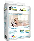 Give the Best to Your Baby & Be Good to the Earth - 5 Star Premium Biodegradable Bamboo Disposable Diapers - Eco Friendly, Green, Safe for Baby & Environment - Your Purchase Supports St. Jude Children's Research Hospital - Satisfaction Guaranteed (Newborn (5-10lbs))