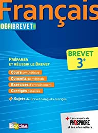 Défibrevet Cours/Méthodes/Exos Français 3e