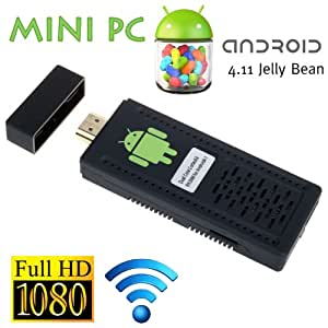 Android 4.0 HDMI Mini PC Smart internet TV adaptor/Adaptor - RK3066 Dual Core 1.6Ghz CPU, WiFi N, HD 1080P UG802