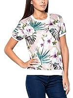 Katrus Camiseta Manga Corta K402 (Rosa / Multicolor)
