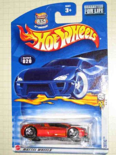 Hot Wheels 2003-020 (20) First Editions RED Zotic 1:64 Scale Guaranteed For Life Card - 1