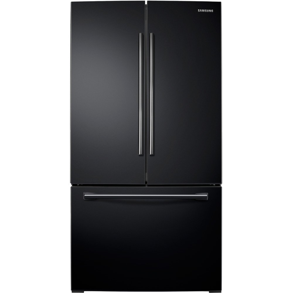 Samsung RF26HFENDBC 25.5 Cu. Ft. Black French Door Refrigerator