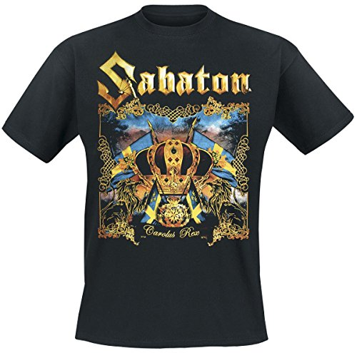 Sabaton Carolus Rex T-Shirt nero L