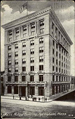 mass-mutual-building-springfield-massachusetts-original-vintage-postcard