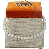 NINI's Jute Decorative Gift Box (13 Cm X 13 Cm X 13 Cm)