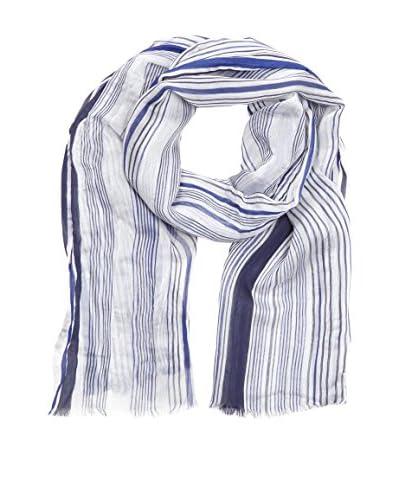 Pal Zileri Bufanda X00C3338724 Blanco / Azul