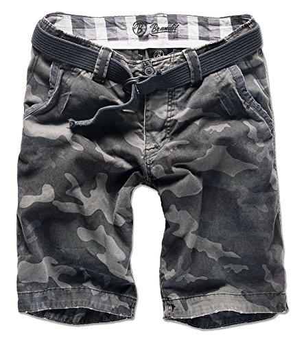 Brandit -  Pantaloncini  - Uomo Mimetico scuro Medium