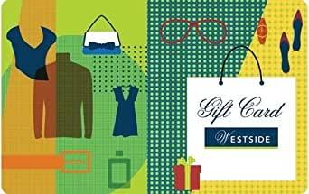 Wedding Gifts For 3000 Rupees : Westside Gift Card - Rs.500: Amazon.in: Gift Cards