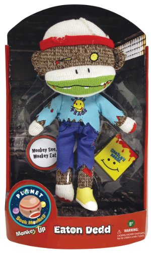 Planet Sock Monkey Doll - Eaton Dedd