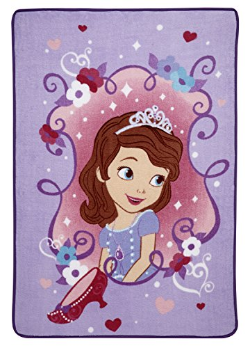 Disney Sofia The First Rolled Ultra Soft Blanket, Sofia The First