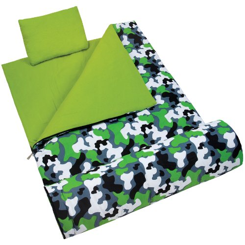 Wildkin Green Camo Original Sleeping Bag