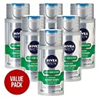 Philips Nivea for Men HS800/04 Anti-Irritation Moisturising Shaving Conditioner Balm Re-Fill Can (6 Pack)