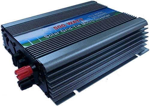 Sungoldpower 500W Grid Tie Inverter Dc10.5V-28V Power Inverter For Solar Panel System