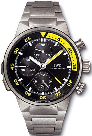 IWC Aquatimer Split Minute Chrono Titanium Mens Watch IW372301