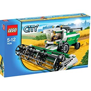 Lego City Set #7636 Combine Harvester