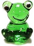 Ganz Miniature Glass Animals Figurine - Frog (ER23186)
