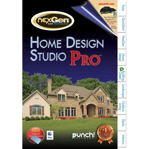 Punch home landscape design studio pro for mac v2 for Punch home landscape design for mac