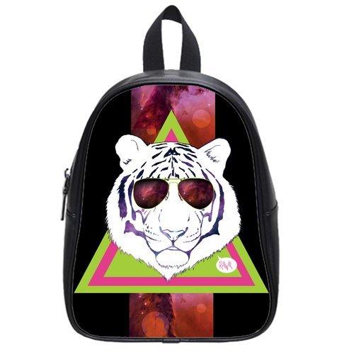 """New Arrival--Superb Hipster Lion Cute 4.5"""" 9.75"""" 12.5"""" School Bag Bookbag Backpack (Medium) front-205360"""