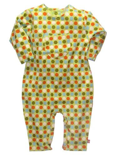 Celery Dot Coverall by Zutano - Buy Celery Dot Coverall by Zutano - Purchase Celery Dot Coverall by Zutano (Zutano, Zutano Apparel, Zutano Toddler Boys Apparel, Apparel, Departments, Kids & Baby, Infants & Toddlers, Boys, One-Pieces & Rompers)