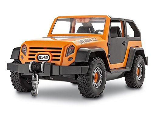 Revell-Junior-Off-Road-Vehicle-Model-Kit-Orange