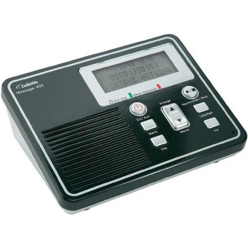 Message 400 - Digitaler Anrufbeantworter mit bis zu 50 Minuten Aufzeichungskapazität inkl. Fernabfragemöglichkeit