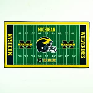 NCAA Michigan Wolverines 28 x 52-Inch Floor Mat