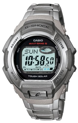 Buy Casio Digital Multi-Band 5 G-Shock – Black