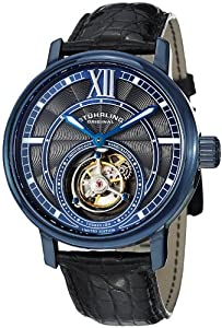 Stuhrling Original Men's 396.33XX6 Tourbillon Limited Edition Imperium Mechanical Blue Watch