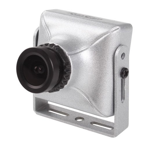 FPV Mini Case 600TVL Wide Voltage Onboard Camera SC2000 RunCam US-SKYPLUS-L28-R RC FPV Camera with Mag. Alloy Case and IR Blocked Filter for Quadcopter and Sailplane Silver