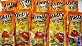 M&Ms Candy Corn White Chocolate Candies, 10 Bags @ 1.5 Oz Each