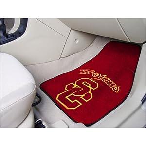USC Trojans NCAA Car Floor Mats (2 Front) by Fanmats