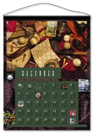 Calendar Jigzaw Puzzle by Buffalo Games