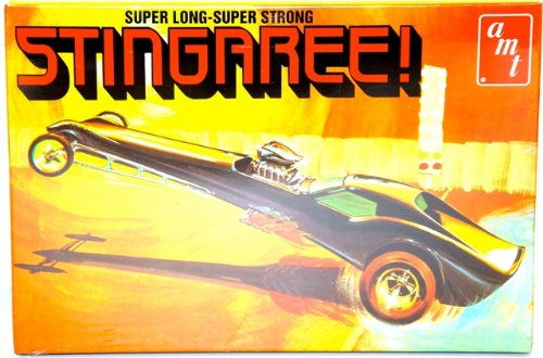 AMT Stingaree Show Dragster 1/25 Scale Model Car Kit (Dragster Model Kits compare prices)