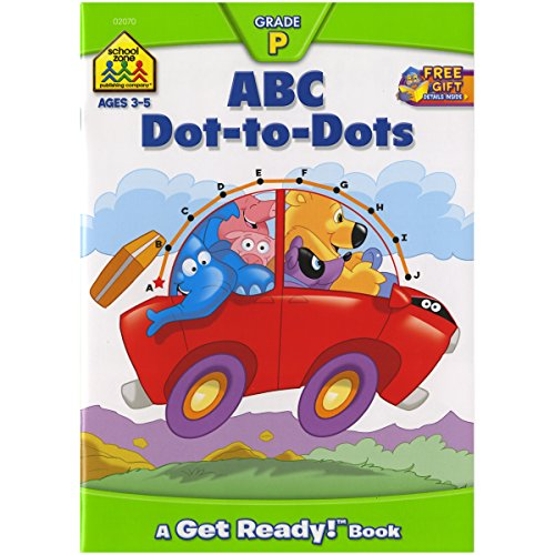 Preschool Workbooks 32 Pages-ABC Dot-to-Dot (Preschool Drawing Paper compare prices)