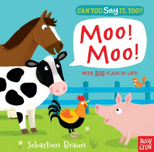 Can You Say It, Too? Moo! Moo! (You Can Too compare prices)