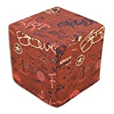 Just The Facts Brick 15x15x15 Ottoman - Chooty & Co. be15k412