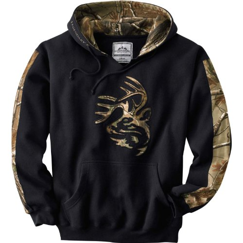Legendary Whitetails Men's Realtree Camo Outfitter Hoodie